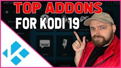 addons for Kodi 19 that work