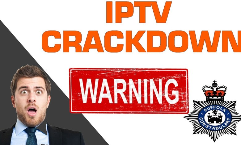 BREAKING NEWS - IPTV SHUTDOWN - POLICE LOGGING IP ADDRESSES???