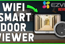 EZVIZ DP1C Review - Turn your door's peephole into a secure video!!