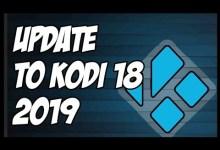 HOW TO UPDATE KODI TO LATEST VERSION⚠️ (UPDATE TO KODI 18.5)