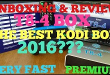 [UNBOXING] REVIEW OF T8-4 BOX, THE BEST NEW ANDROID/KODI BOX 2016??