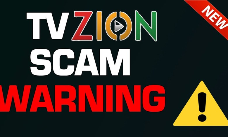 WARNING - DO NOT use this TVZION service!!!!