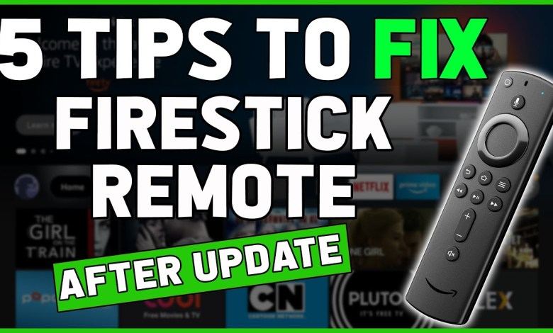5 TIPS to FIX Amazon Firestick Remote NOT WORKING after update ✅