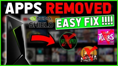 APPS NOT SHOWING NVIDIA SHIELD!! (CYBERFLIX + MORE REMOVED)