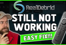 REAL DEBRID NOT WORKING ⛔ - Here is an EASY fix!!!!