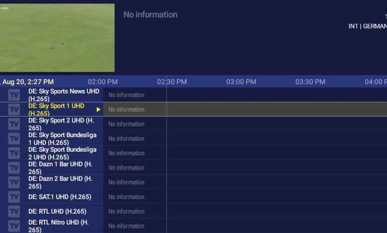 Best IPTV service 2021 for European channels