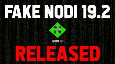 Nodi 19.2 update - WARNING