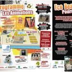 Programme de l'eco beach tennis 2012