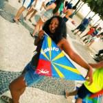 Nadia achève un tour du monde au Brésil