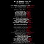 Programme Orelsan 2012