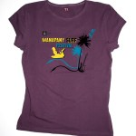 T-shirt collector femme Manapany Surf Festival 2012