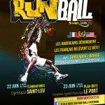 Affiche RunBall 2012