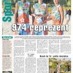 le Quotidien - Page Sport du 15 juillet 2012