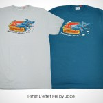 T-shirt Requin Sardine by Jace