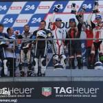 24 HEURES MOTO - OPEN PODIUM - 9 SEPTEMBRE 2012. Sur la première marche du podium : Philippe Teissier, Hervé Royer, Thierry Cerdan, Stéphane Pagani (Photo : www.lemans.org)