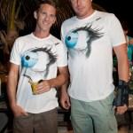 Arnaud Darbon et Nicolas Dantec, les organisateurs du Zot Movie Festival
