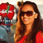 4x3 Lunettes Optique de Bourbon L'effet péi - Stéphanie Robert Miss Réunion 2012