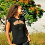 T-shirt femme - Arbre Flamboyant - L'effet Péi Réunion