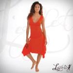 Robe rouge Straply - L'effet Péi Réunion