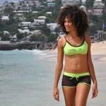 Maillot de bain sport Ophélie - Plage des brisants - île de la Réunion