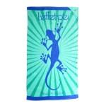 Drap de bain bleu - Margouillat Sunlight