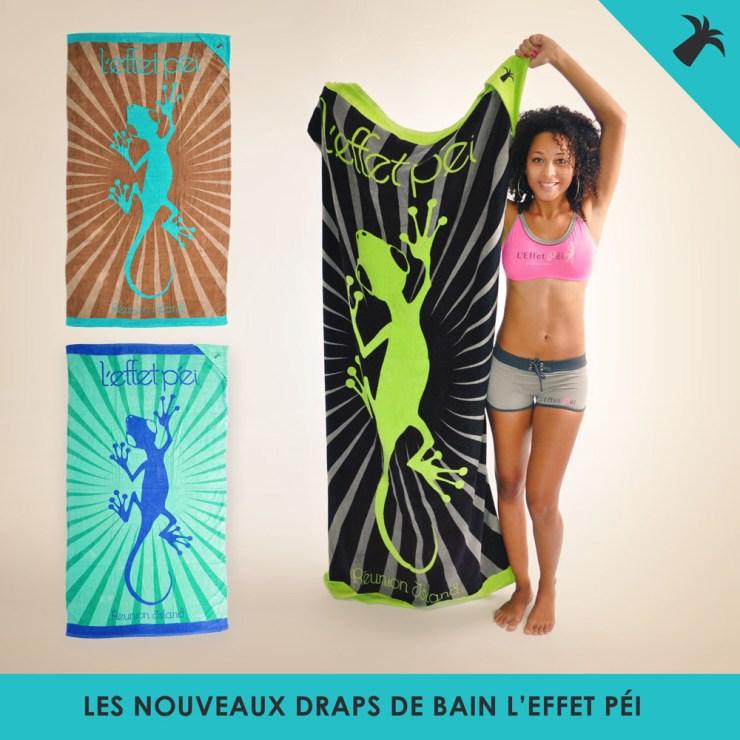 Nouvelles serviettes de plage L'effet Péi - Réunion Island