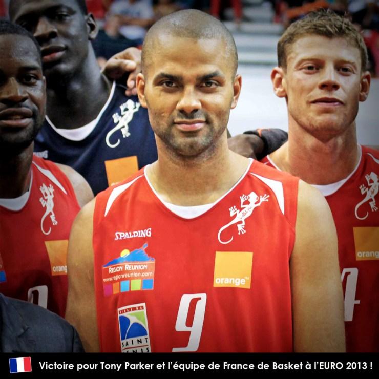 Victoire pour Tony Parker et l'équipe de France de Basket à l'EURO 2013 !