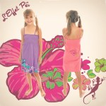 Robe louane - fille - hibiscus