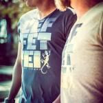 T-shirt homme Saline les bains - Réunion Island - Col V