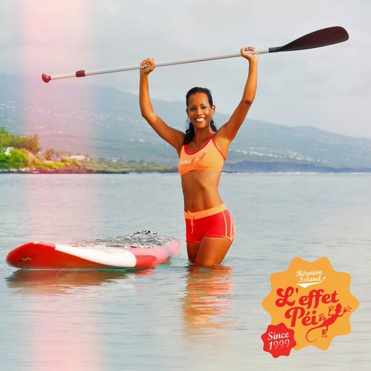 Plage de Trou d'eau - Maillot de bain femme Ophélie - Sport Paddle Board