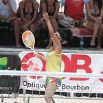 Eco Beach Tennis 2014 - Plage des Brisants - île de la Réunion