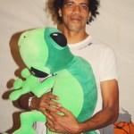 François Joron - Ousanousava avec la mascotte - Sakifo 2014