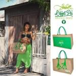Bikini, sarouel femme et sac pattes de margouillat L'effet Péi - Saint-Leu - île de la Réunion