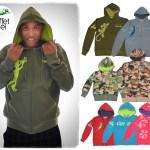 Nouvelles vestes zippées et à capuche L'effet Péi