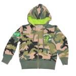 Veste zippée Yuti Army - Enfant