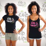T-shirt Raid is Raide - Grand Raid 2014 - Femme