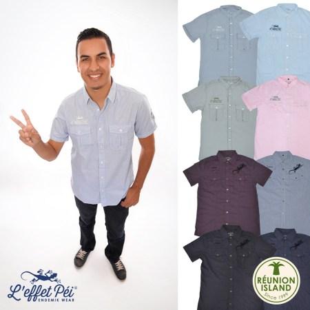 Chemises Homme L'effet Péi - Réunion Island