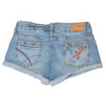Shorts Jeans Femme - Janis brodé délavé