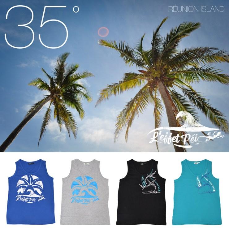 35°C à l'ombre à la Réunion - on dit bienvenue au débardeur !