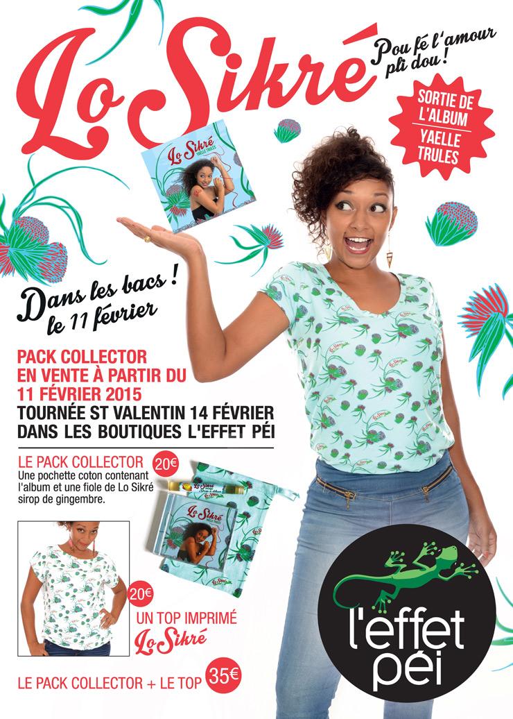 Lo Sikré - Yaelle Trulès - Pou fé l'amour pli dou !