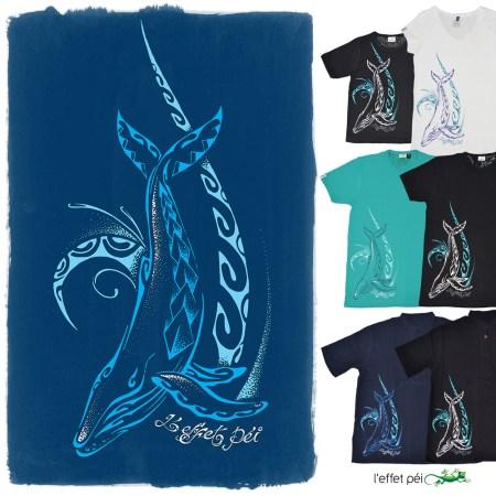 T-shirts et chemises Baleine Nezien - Homme Femme Enfant