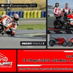 Team Scudéria WANTS Ducati Luxembourg - Pilotes : Philippe TEISSIER, Stéphane GESLIN, Hervé ROYER, Lionel ANCELIN