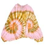 Sarouel Tie & Dye L'effet Péi Femme Jaune