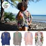 Poncho Kimono Femme - Saint-Paul île de la Réunion