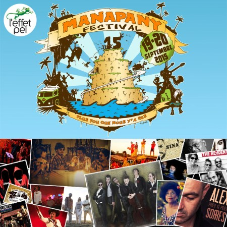 Affiche Manapany Festival 2015