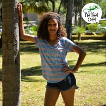 Top femme Kiara 974 - île de la Réunion