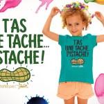 T-shirt Enfant - T'as une tache pistache