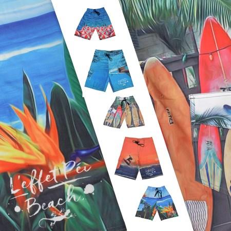 Boardshorts Brush - Plage île de la Réunion