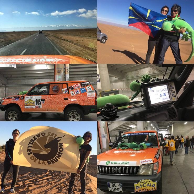 Gazelles de la Réunion - au Maroc pour le Rallye des Gazelles 2017