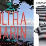 T-shirt Ultra Marin - île de la Réunion - marinière